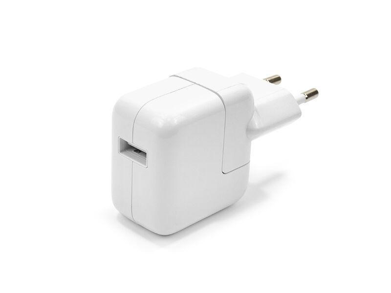 Ładowarka sieciowa Apple A1401 A1357 12W z USB 2.1A - biały