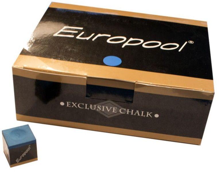 Kreda bilardowa Europool op. 144szt - różne kolory.