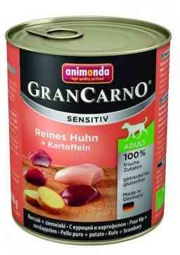 Animonda GranCarno Sensitiv Kurczak z Ziemniakami Psy Wrażliwe Adult 800 g