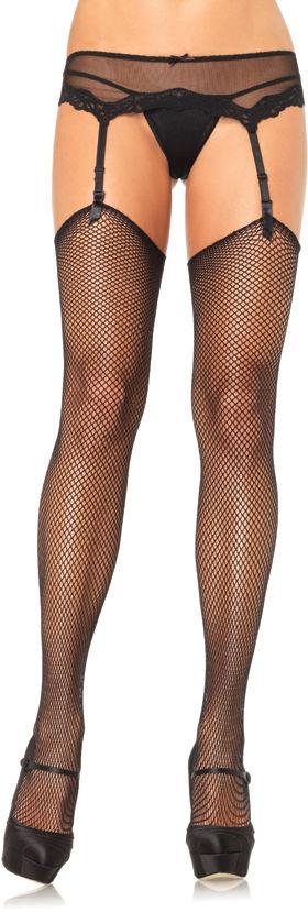 Leg Avenue Fishnet Stockings 9020 Black