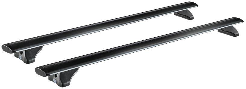 CRUZ Airo Dark Bagażnik dachowy aluminiowy Peugeot 5008 I (936-017 + Airo Fix-Dark128)