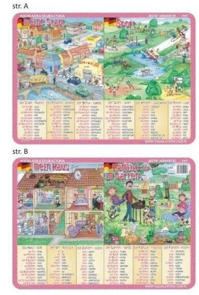 Podkładka edu. 045 - Meine Stadt, der Sport...