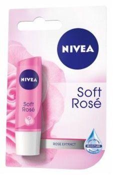 Nivea Pomadka ochronna Soft Rose 4,8g