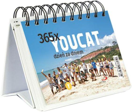 365x YOUCAT - dzień za dniem - kalendarz na spirali