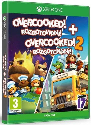 Overcooked+Overcooked 2 XOne Używana