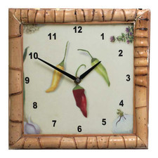 Zegar kwarcowy natura #7