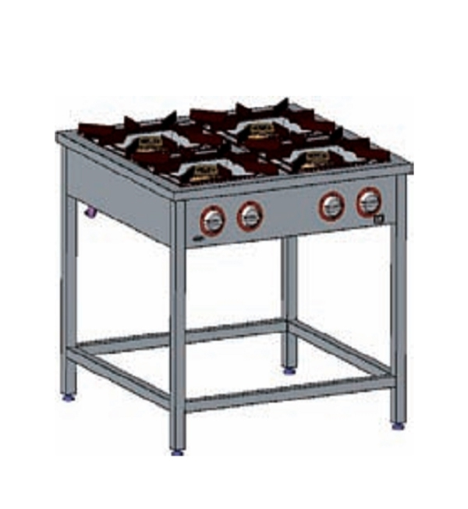 Kuchnia gazowa 4-palnikowa EGAZ TG 4720.II