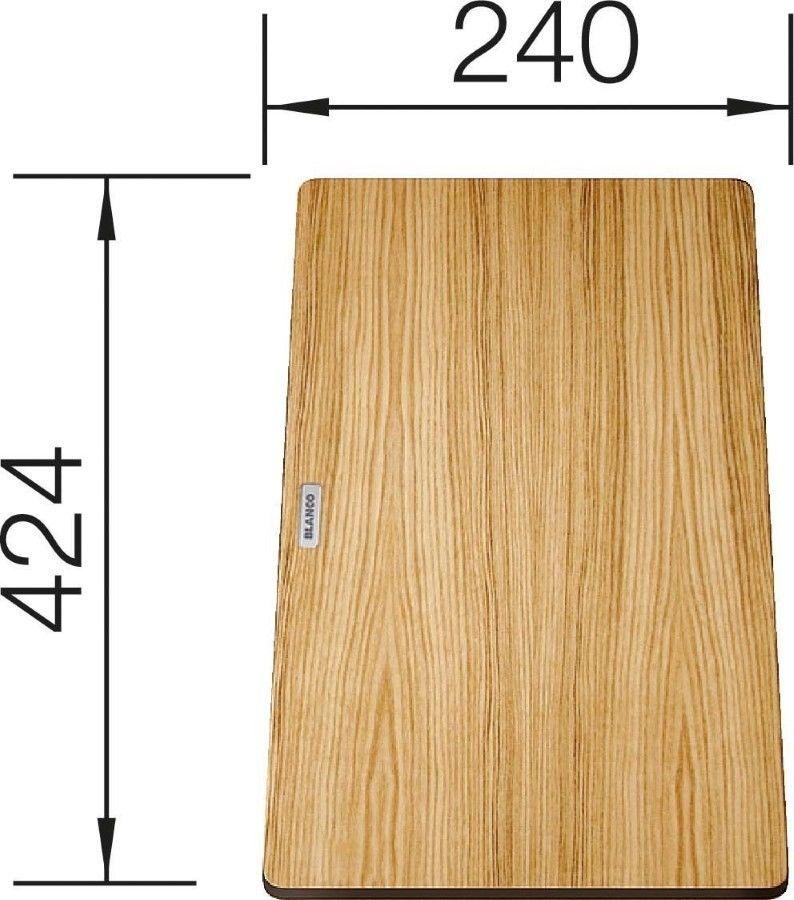 Drewniana deska do krojenia 424 x 240 mm