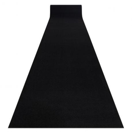 Chodnik RUMBA podgumowany, jednokolorowy czarny