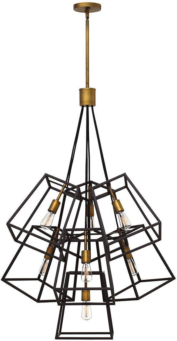 Lampa wisząca FULTON 7P HK/FULTON/7P - Elstead Lighting  Skorzystaj z kuponu -10% -KOD: OKAZJA