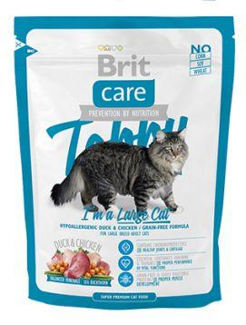 Brit Care Tobby Im A Large Cat Bezzbożowa Kaczka Kurczak 400 g