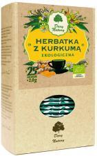 Herbatka Z KURKUMĄ BIO (25 x 2 g) Dary Natury