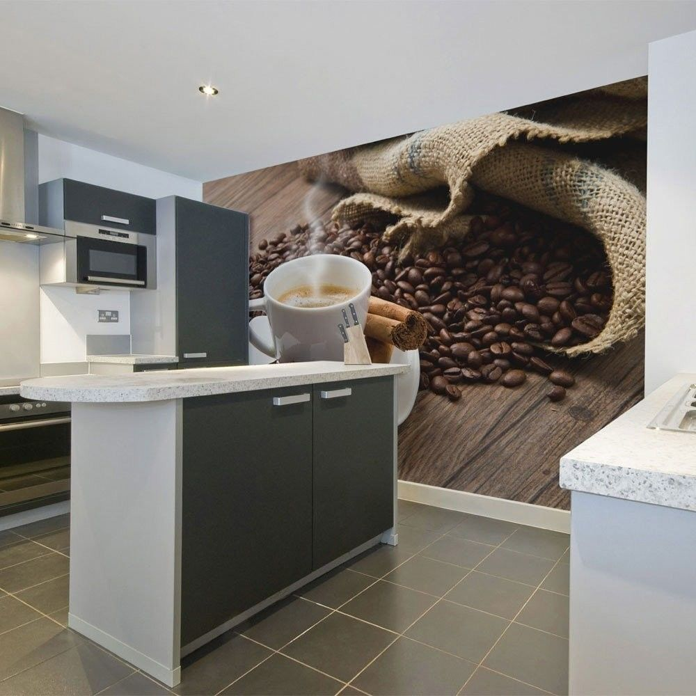 Fototapeta - star anise coffee