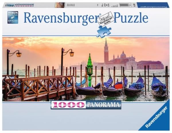Puzzle 1000el Panorama Weneckie gondole 150823 RAVENSBURGER (RAP 150823)