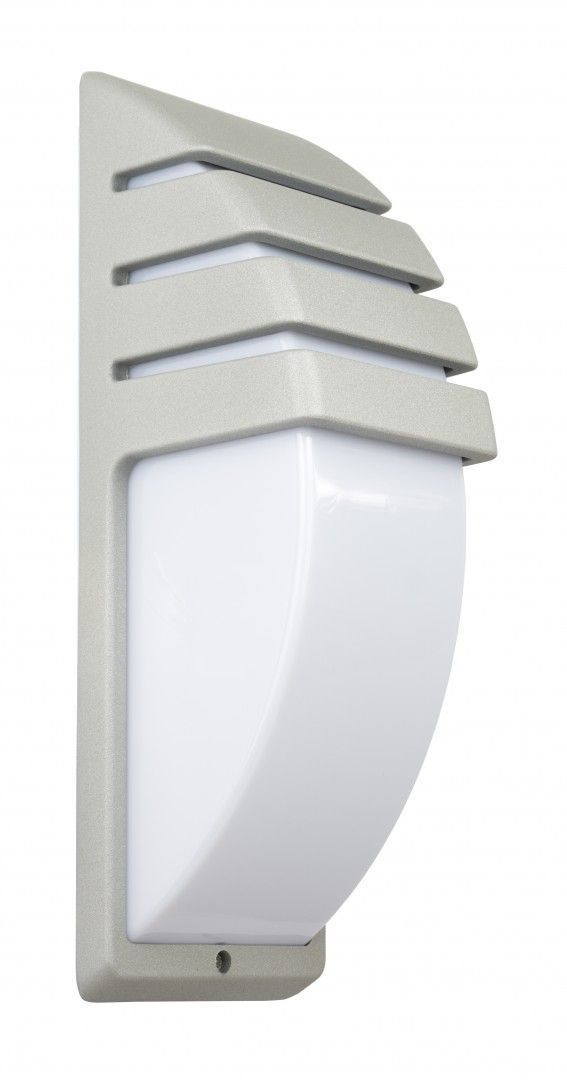 SU-MA CITY 1836 AL kinkiet lampa ścienna srebrna E27 IP54