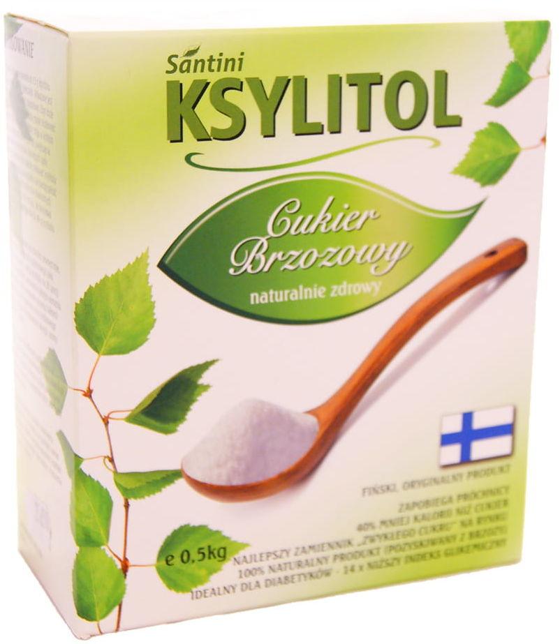 Cukier Ksylitol - Santini - 500g