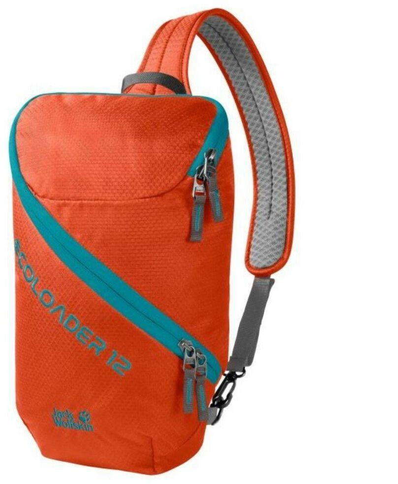 Plecak na jedno ramię Jack Wolfskin Ecoloader 12 - wild brier