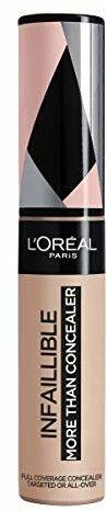 LOréal Paris Infallible More Than Concealer korektor do wszystkich rodzajów skóry odcień 324 Oatmeal 11 ml