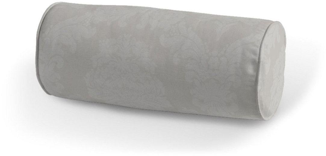 Poduszka wałek prosty, jasny popiel, Ø16  40 cm, Damasco