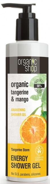 Żel pod prysznic orzeźwiający mandarynkowa burza 280 ml - organic shop