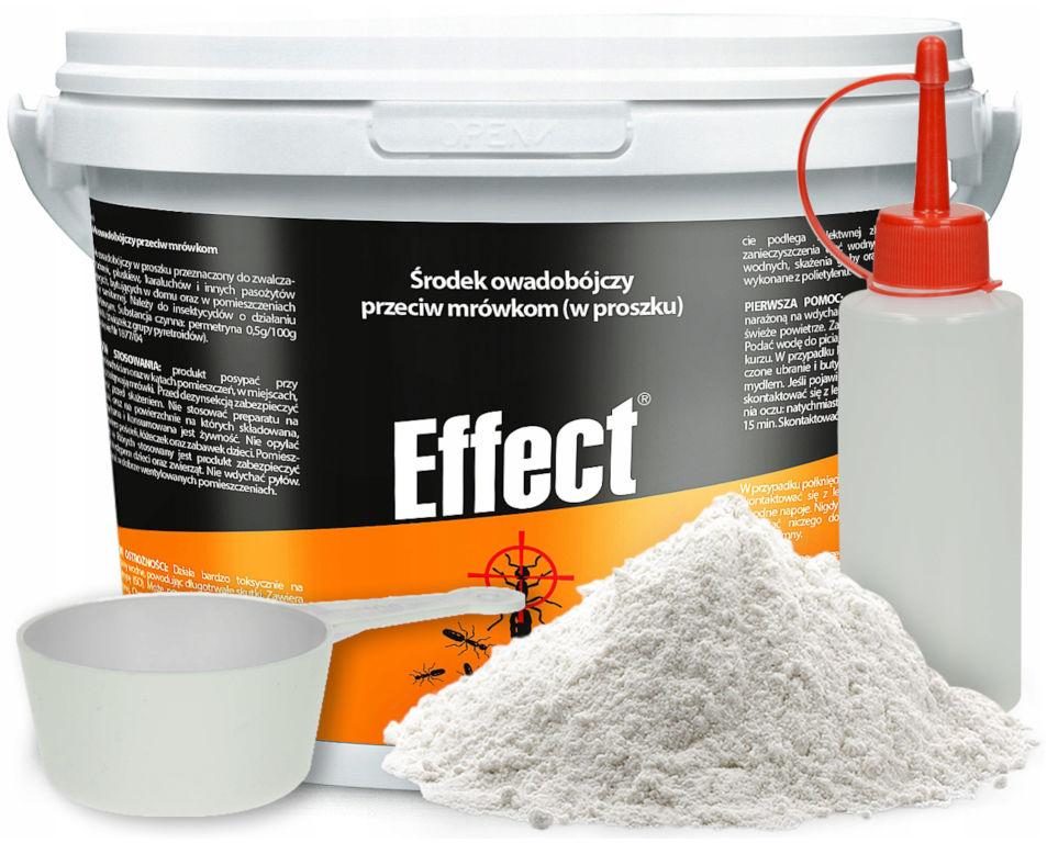 1kg Effect Proszek na mrówki. Środek na mrówki.