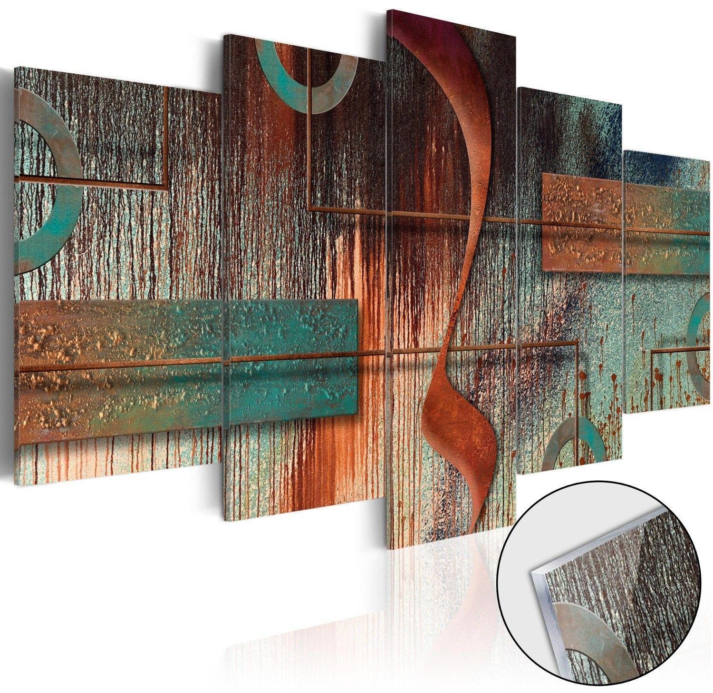 Obraz na szkle akrylowym - abstrakcyjna melodia [glass]