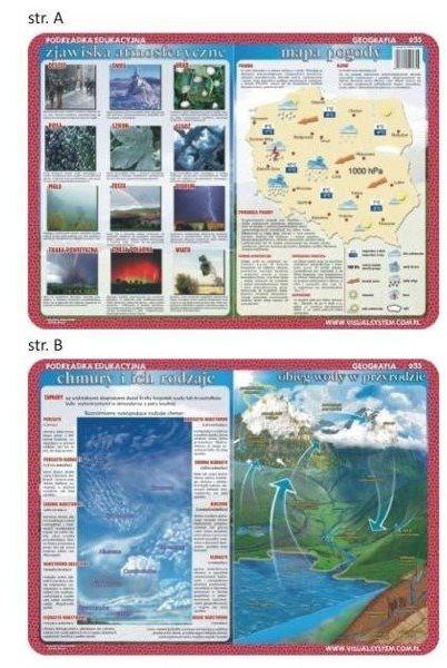 Podkładka edu. 035 - Zjawiska atmosferyczne..