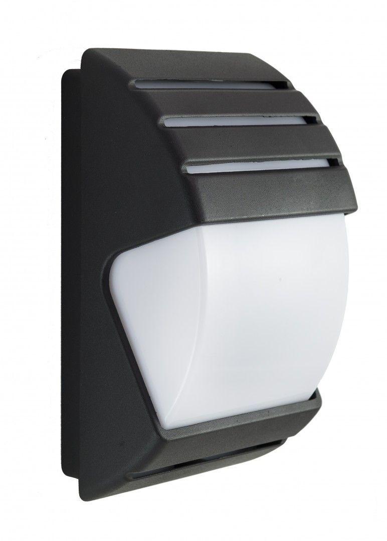 SU-MA CITY 1836 II BL kinkiet lampa ścienna czarna E27 IP54