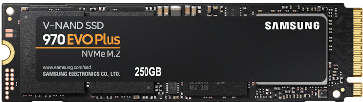 Dysk SSD Samsung 970 EVO Plus 250 GB M.2 PCIe x4