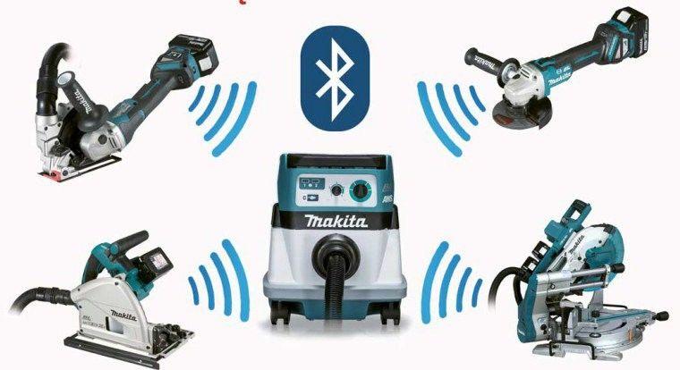 Akumulatorowy młot udarowo-obrotowy SDS-MAX 2x18V 4x5,0Ah AWS Bluetooth Makita [DHR400PT4U] + zestaw 4szt. dłut i szpicaków SDS-max [D-42466]