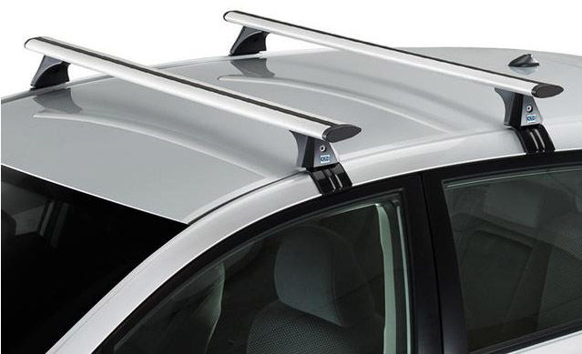 CRUZ Airo Bagażnik dachowy aluminiowy Toyota Prius III (935-609 + AiroT118)