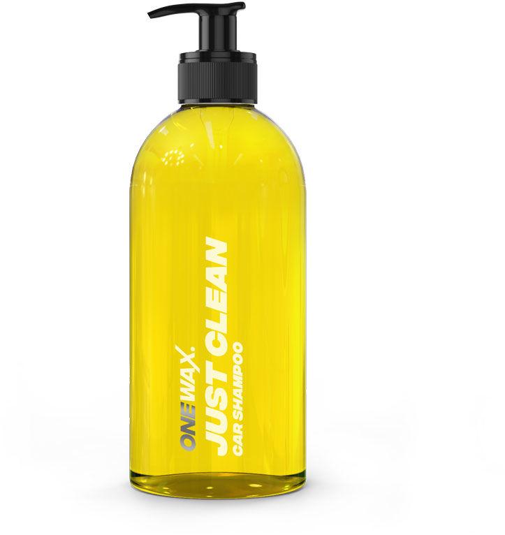 OneWax. Just Clean Car Shampoo  szampon samochodowy, delikatny i niezwykle wydajny 500ml