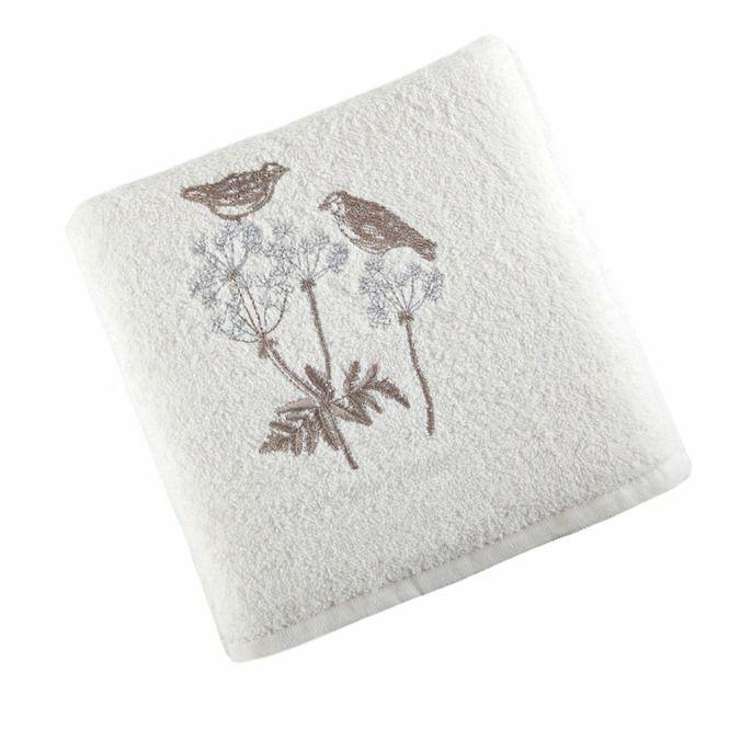 Ręcznik Magda 50x90 01 Kremowy Eurofirany