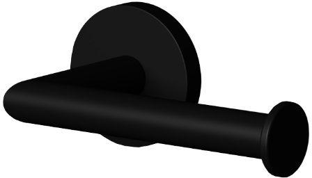 Oltens Gulfoss uchwyt na papier toaletowy czarny mat 81102300