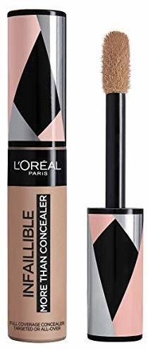 LOréal Paris Infallible More Than Concealer korektor do wszystkich rodzajów skóry odcień 330 Pecan 11 ml