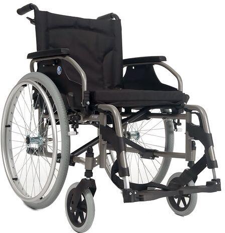 Wózek inwalidzki dla niepełnosprawnych ręczny, stalowy V100 Vermeiren