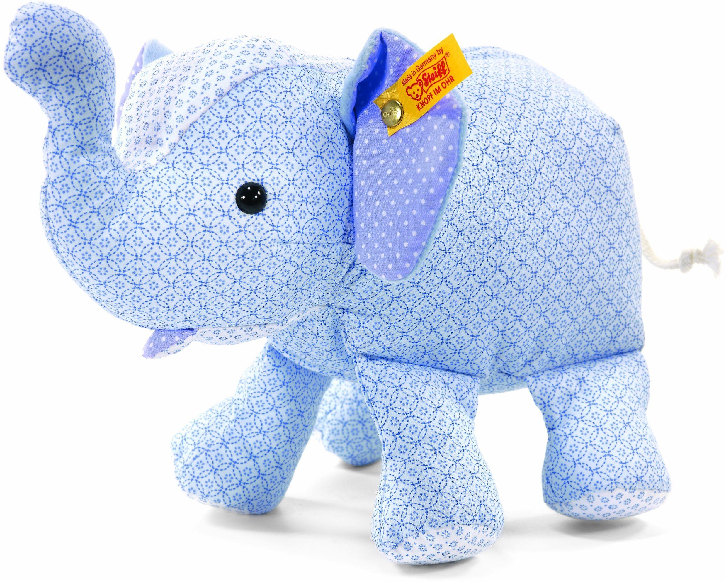Steiff 235801 - Trampili słoń 25 cm, jasnoniebieski