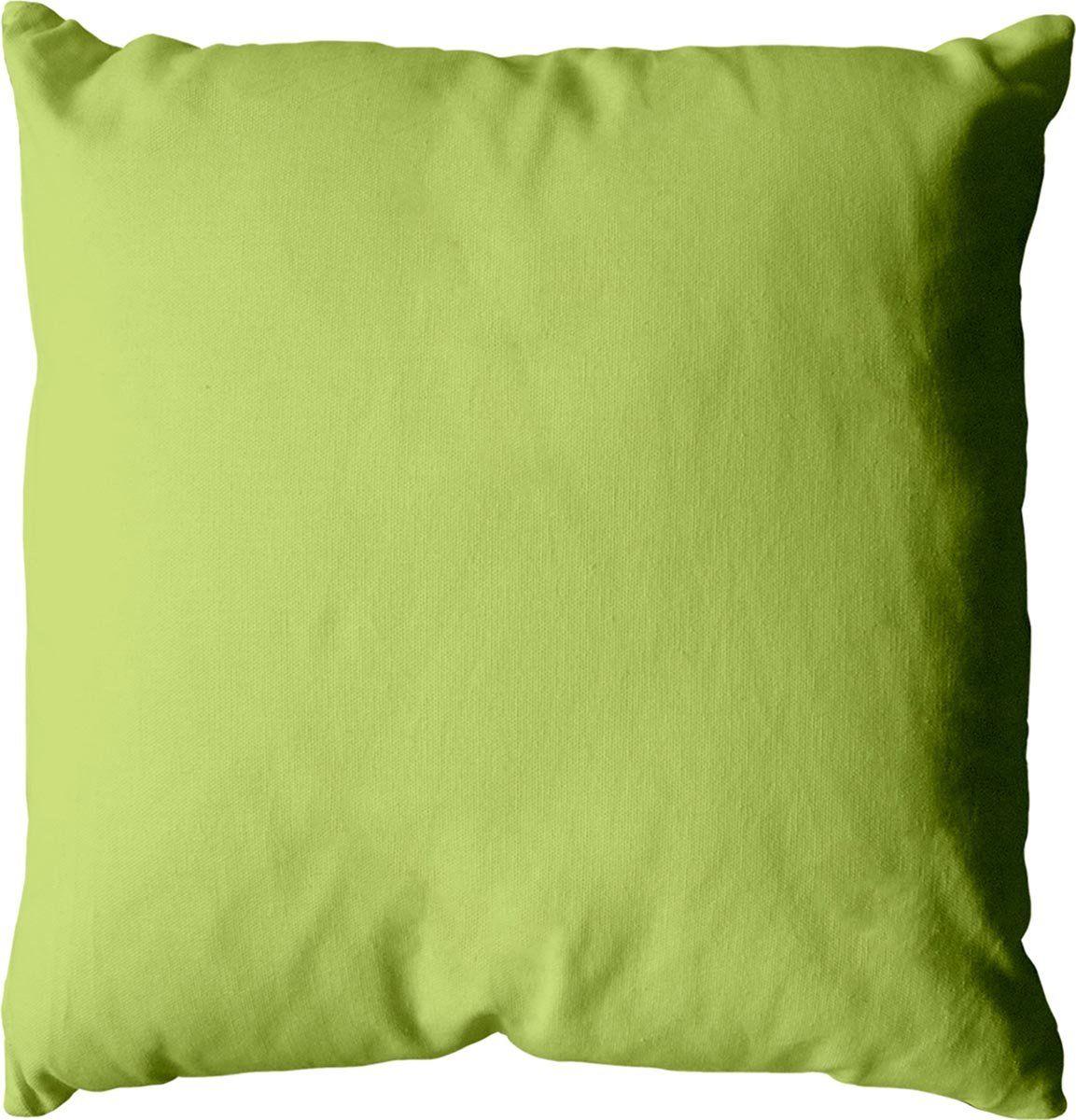 Poduszka 60 x 60 cm, 350 g, bawełna, zieleń azotu