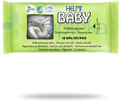 Helmi Baby chusteczki nawilżane dla dzieci 64 sztuki