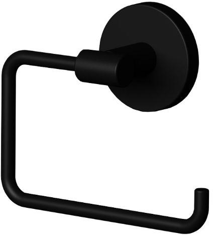 Oltens Gulfoss uchwyt na papier toaletowy czarny mat 81103300