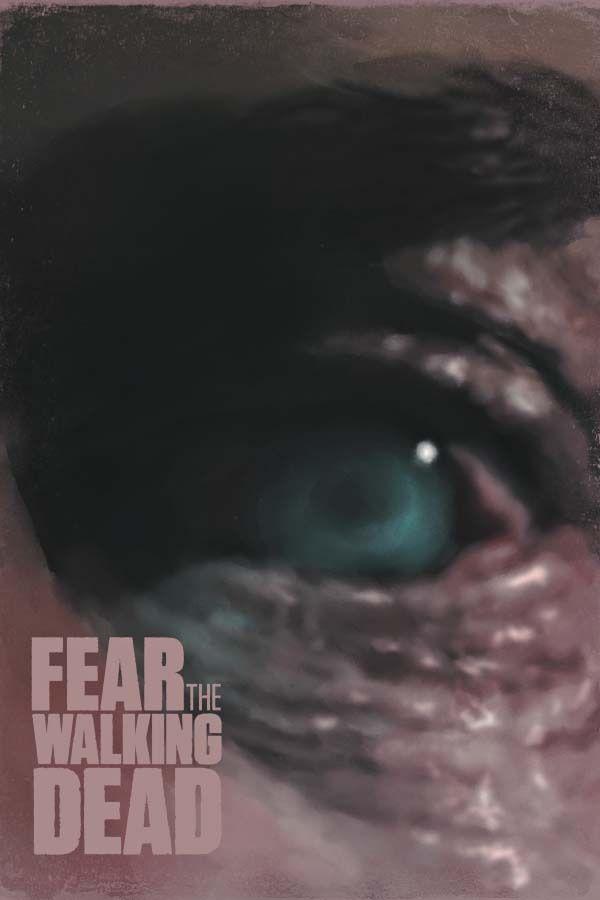 Fear the walking dead - plakat premium wymiar do wyboru: 20x30 cm