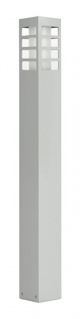 SU-MA RADO III 1 AL lampa stojąca srebrna E27 IP54 75cm