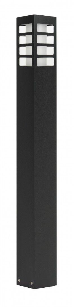 SU-MA RADO III 1 BL lampa stojąca czarna E27 IP54 75cm