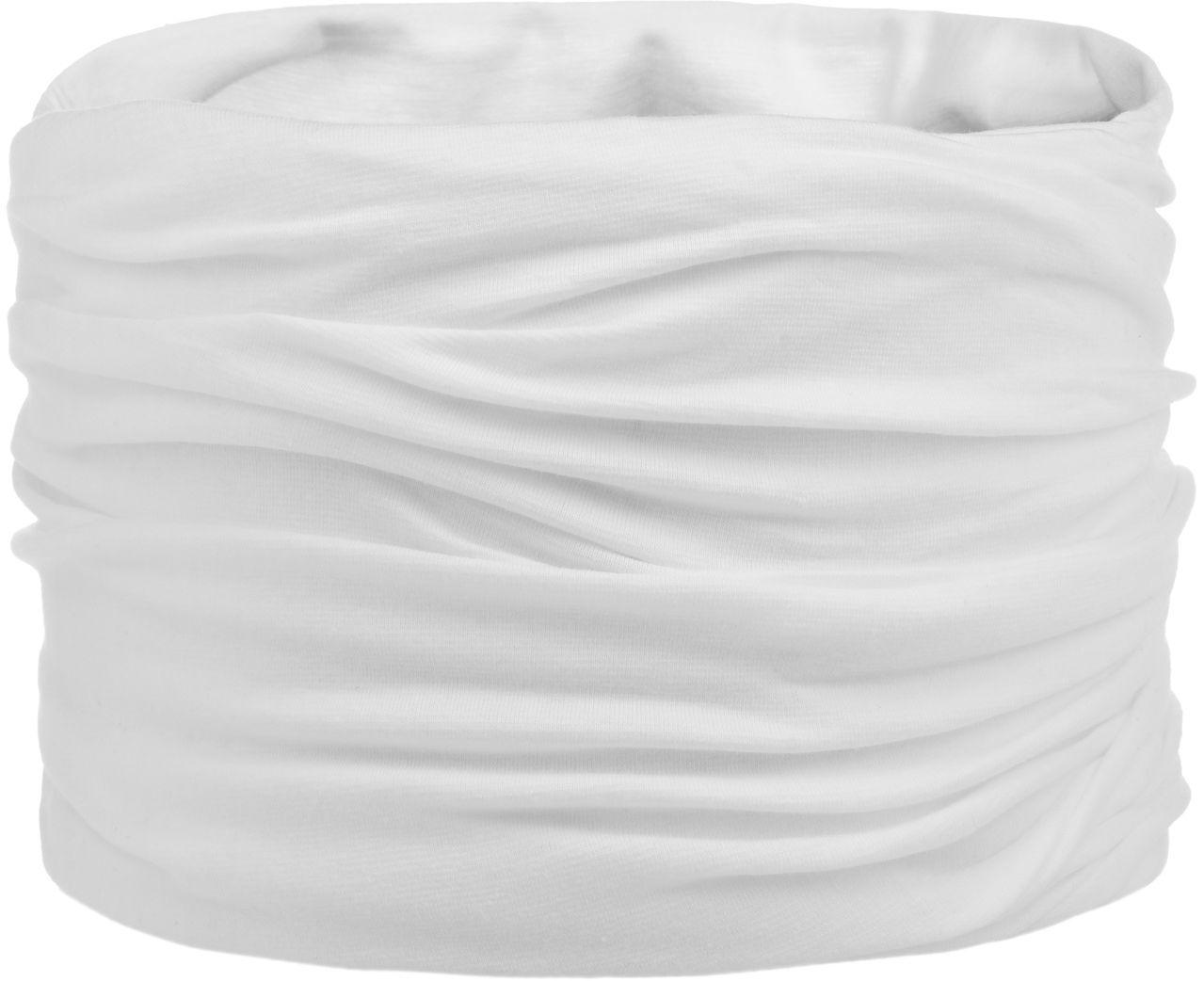 Chusta Wielofunkcyjna Jersey, biały, One Size