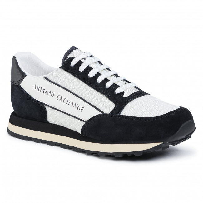 Sneakersy ARMANI EXCHANGE - XUX083 XV263 A001 Off Wht/Black
