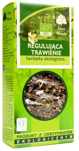 Herbatka REGULUJĄCA TRAWIENIE BIO 50g Dary Natury
