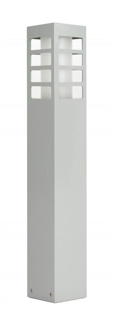 SU-MA RADO III 2 AL lampa stojąca srebrna E27 IP54 50cm