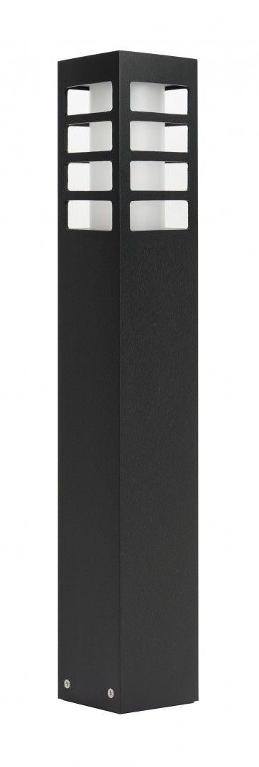 SU-MA RADO III 2 BL lampa stojąca czarna E27 IP54 50cm