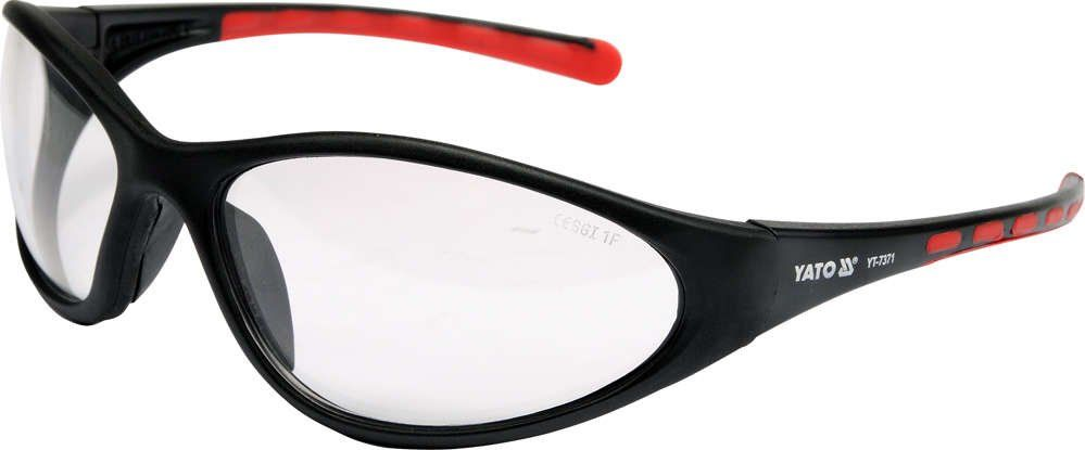 Okulary ochronne bezbarwne typ 91692 Yato YT-7371 - ZYSKAJ RABAT 30 ZŁ