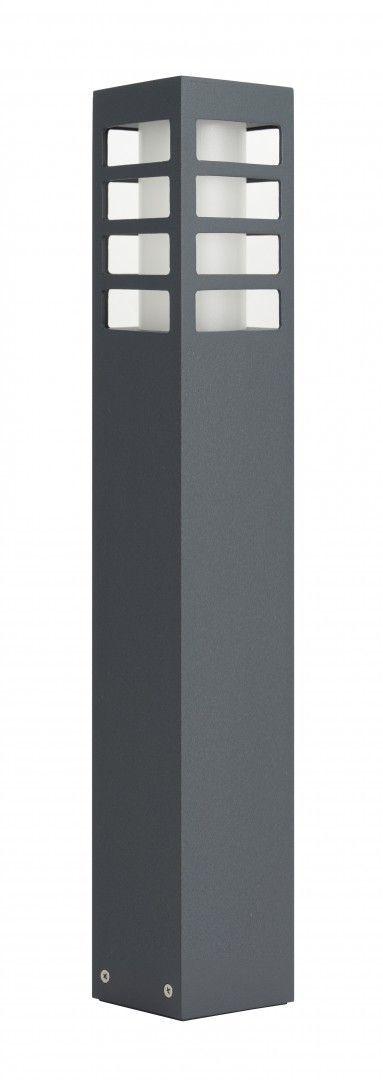 SU-MA RADO III 2 DG lampa stojąca ciemny popiel E27 IP54 50cm